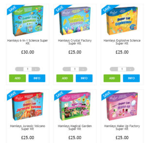 Hamleys Science Kits 2